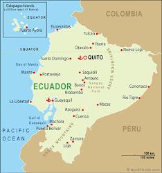 Ecuador - Simple Map