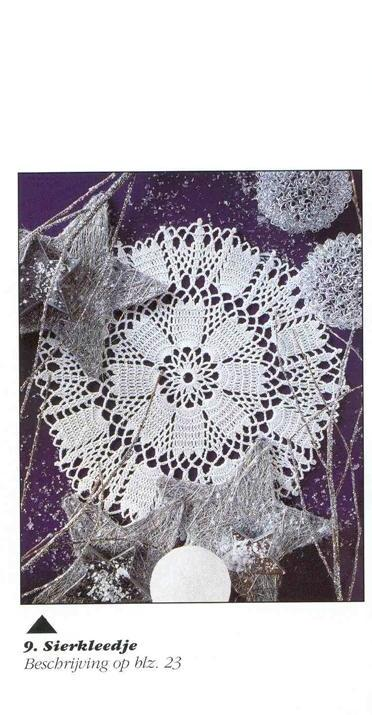 Free crochet doily patterns - Find Free crochet doily patterns