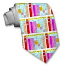 ... or even on a men's tie!