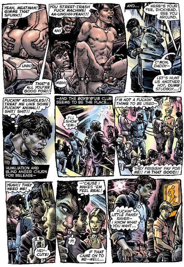 from Caiden gay cartoonist zack