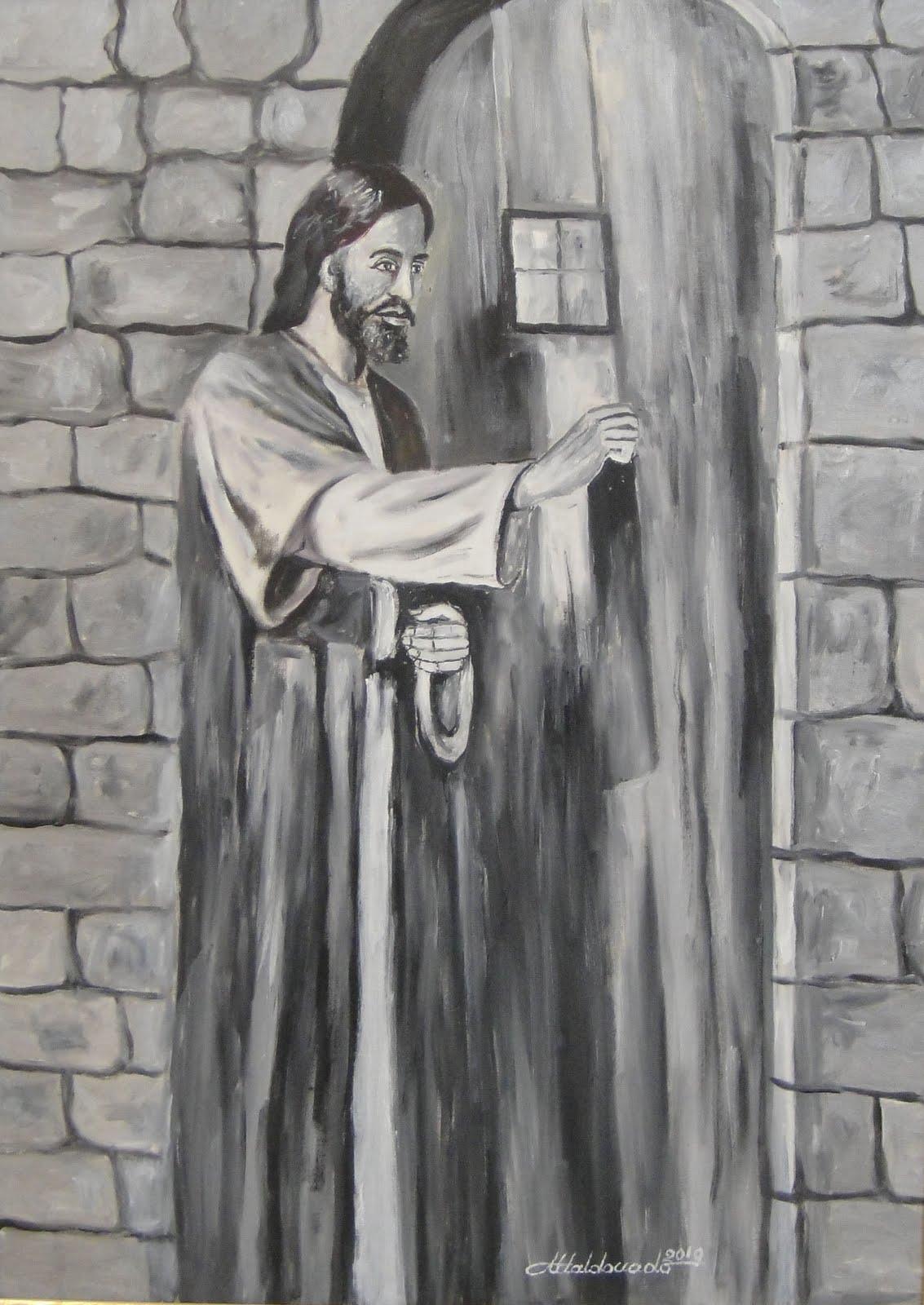 1631 jesus batendo na porta for Jesus a porta