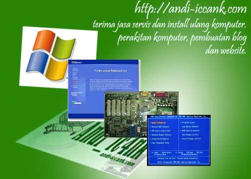 jasa install komputer