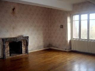 Het franse huis de grote kamer