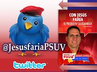 Sigue a Jesús por el Twitter