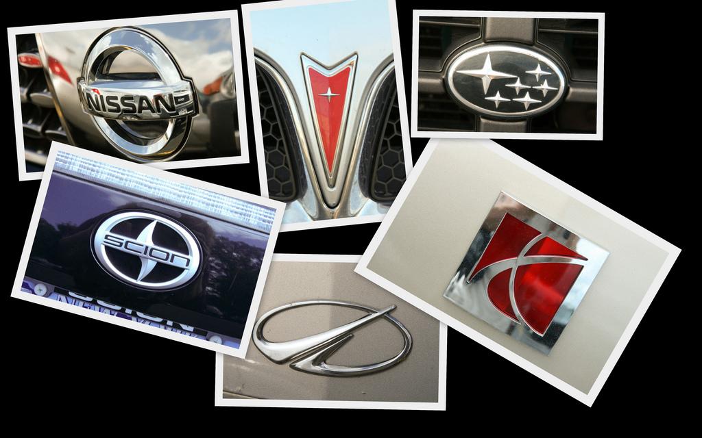 All Subaru Logos