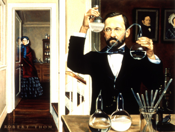 Louis Pasteur neyi buldu