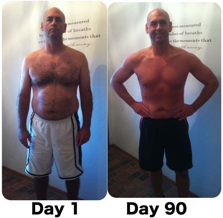 p90x before and after girls. P90X - Before and After
