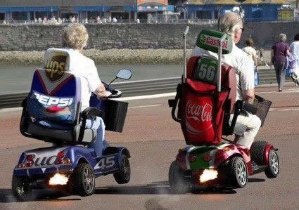 BABY BOOMER RACING