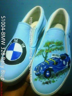 Sepatu lukis BMW 328 (1936).