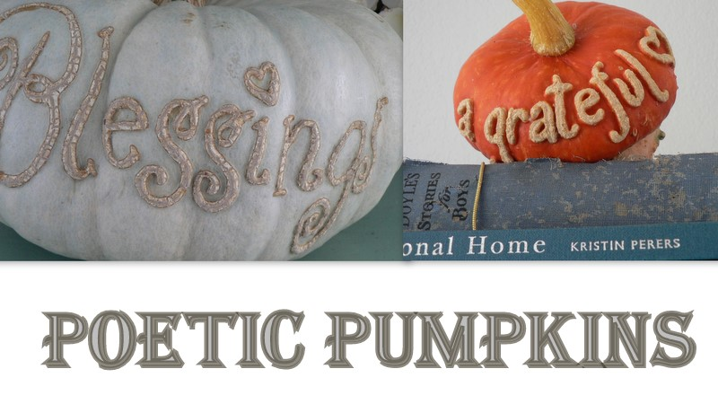 Poetic Pumpkins