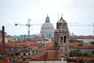 Campanile di San Sebastiano e Chiesa Salute