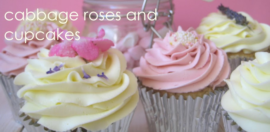 cabbage roses and cupcakes