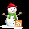 icono feed muñeco de nieve