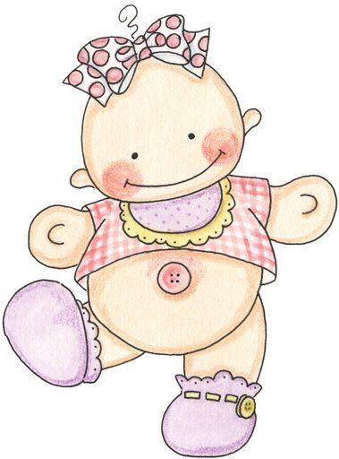 Imagenes de bebes para imprimir - Dibujos pared bebe ...