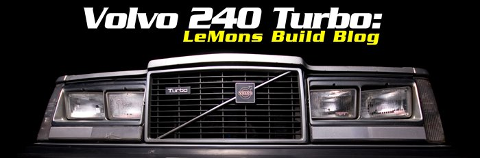 Volvo 240 Turbo: Lemons Build Blog