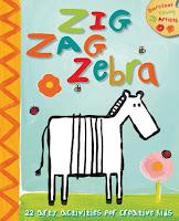 zig zag zebra cover