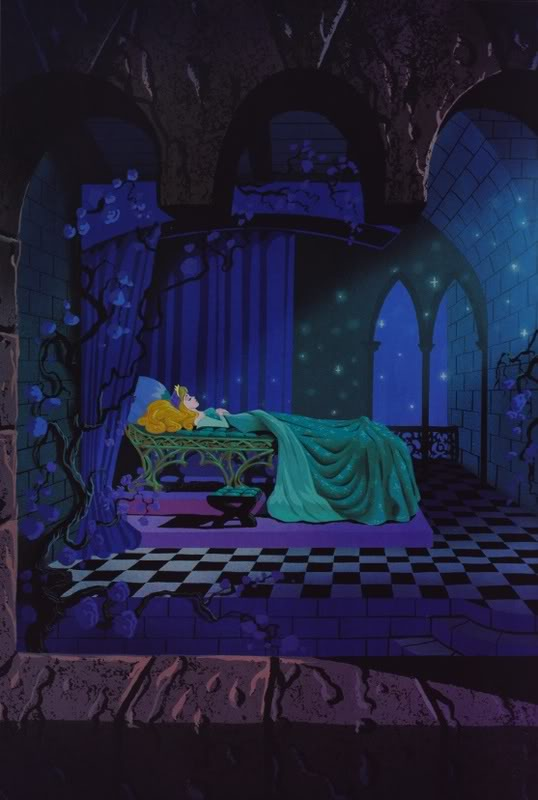 A Fresh Wind And A Bright Sky Concept Art Sleeping Beauty