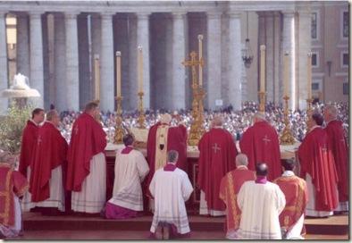 Blog por la Restauración de la Sagrada Liturgia y la Doctrina genuina según el orden Solemne  ADeum
