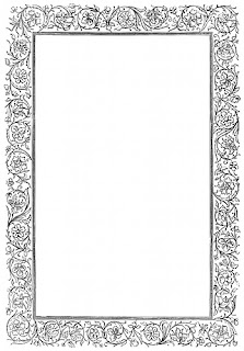 victorian border colouring pages  page 2 Victorian Style Borders