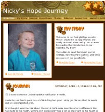 Follow Nicky's Journey