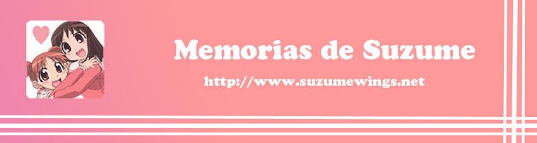 Memorias de Suzume