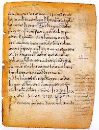 Los primeros textos que se conservan en castellano datan del siglo XI, son las Glosas Emilianenses
