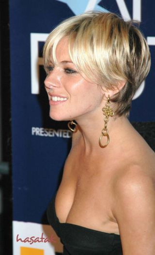 celebrity short hairstyles for women. 2006 choppy brunette hairstyle