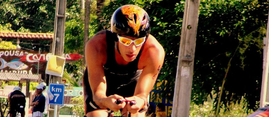 Triatleta amador Bruno Bazzan