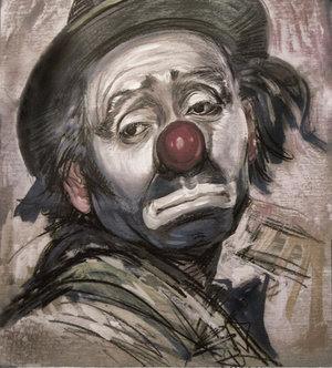 de zieke clown
