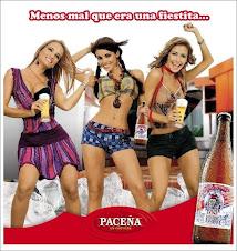 "Cerveza ""Paceña"""