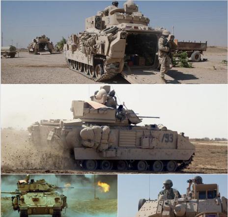 M3A3 Bradley usa army
