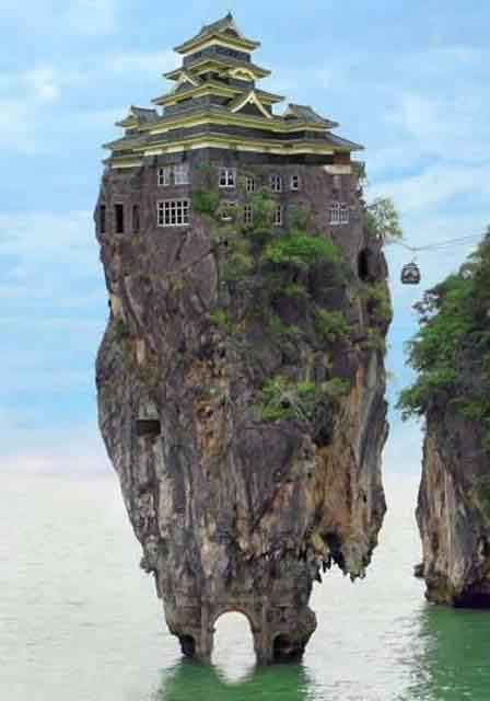 Amazing Rock House Amazing Photos
