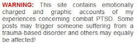 COMBAT PTSD BLOGGER