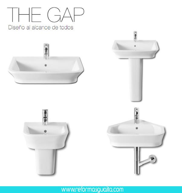 Mueble lavabo the gap 20170902064939 for Modelos de lavabos roca