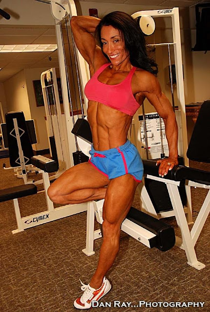 Female bodybuilders who spank simply excellent