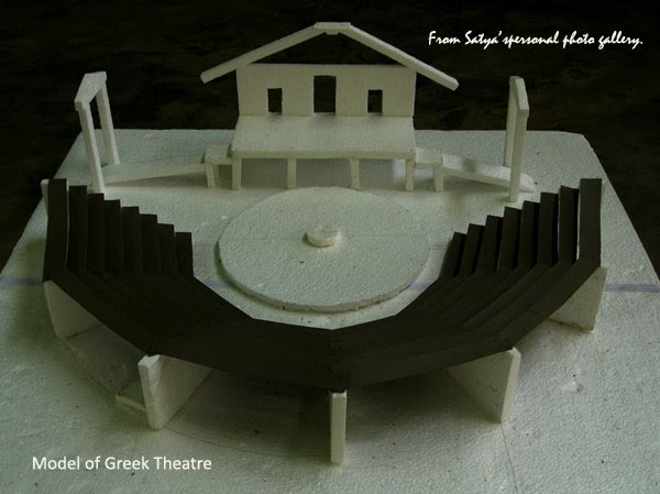DrSatyabrata Rout Model Of Greek Theatre