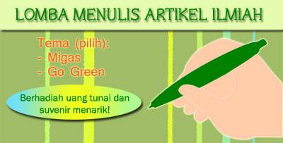 pelestarian lingkungan hidup terapkan go green