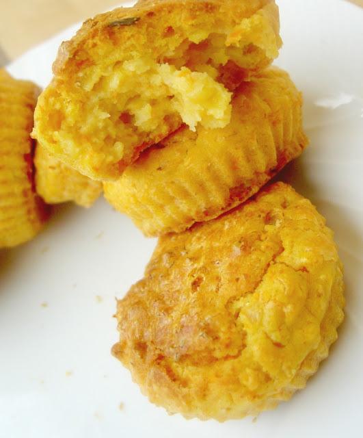muffins carote e scalogno