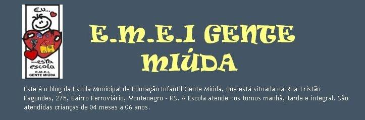 E.M.E.I. GENTE MIÚDA