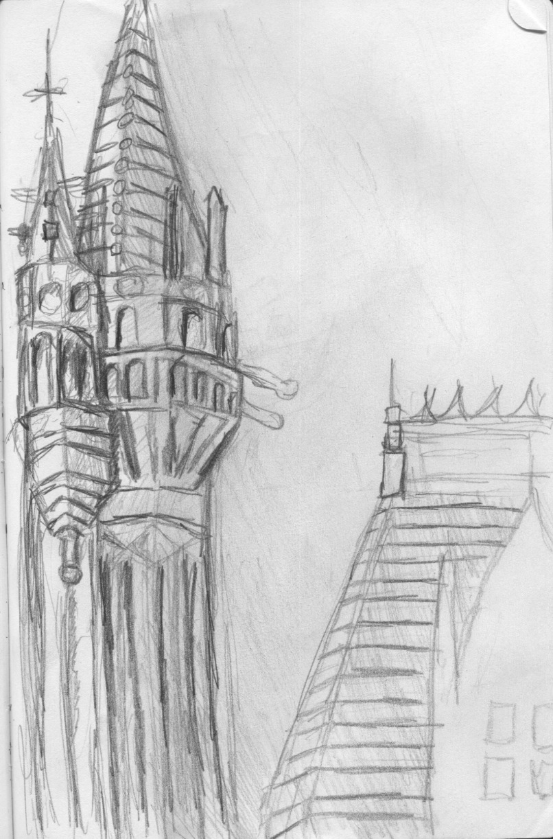 Magic Kingdom Drawings in The Magic Kingdom Being