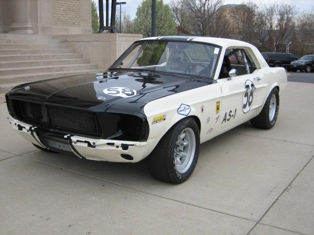 Were visited mustang vintage racer