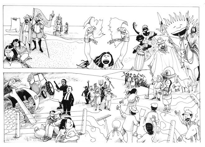 dibujos del maestro y amigo Carlos Julio Sanchez