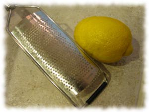 how to get lemon zest without a grater