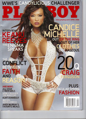 calls Candice michelle playboy night