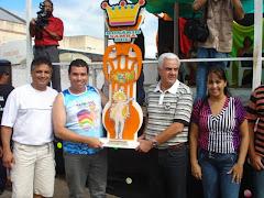 Premiação carnaval de rua 2010