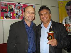 Vereador Edmundo da Rosa recebe a visita o Deputado Estadual Miki Breier