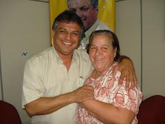 Vereador Edmundo da Rosa Recebe visita da Senhora Neusa Pacheco