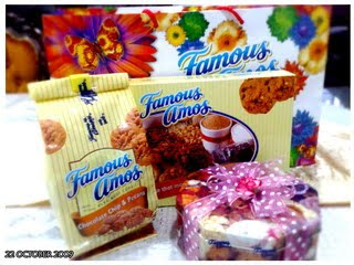 My FAVORITE COOKIES ,FAMOUS AMOS !!!!