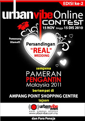 urban vibe online contest edisi ke 2 ) persandingan real wedding)