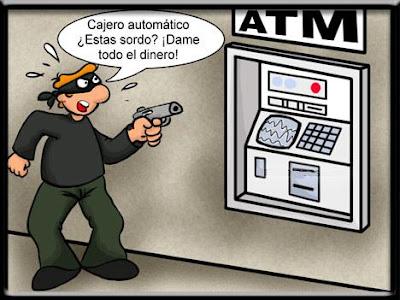 El derecho penal de frank sanreu estafa inform tica en for Como cobrar en un cajero automatico